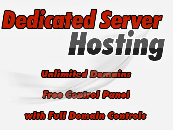 Modestly priced dedicated servers account