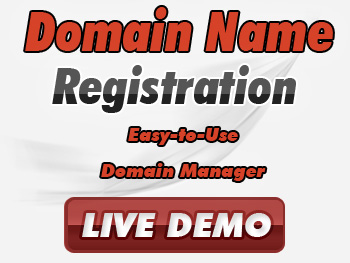 Moderately priced domain name registrations & transfers